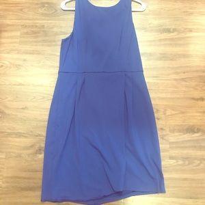 Work-friendly blue Cynthia Rowley dress